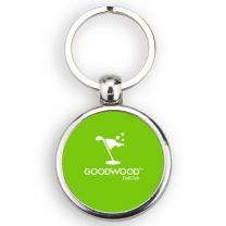 Porte-clé balle de golf personnalisé métal off