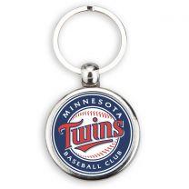 porte clés métal balle de baseball avec logo off