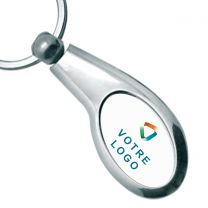 Porte-clés publicitaire club de golf métal
