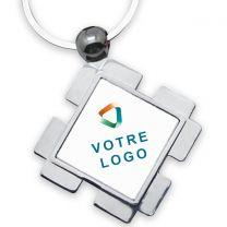 porte clés publicitaire losange design