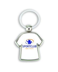 Porte clés publicitaire métal T-Shirt