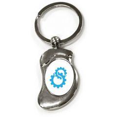 Porte-clés publicitaire métal chausson