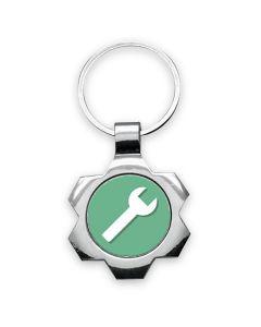 porte clés publicitaire photo métal design