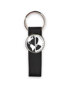 Porte-clés photo cuir et rond metal sublimation