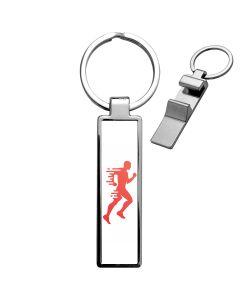 Porte clés publicitaire décapsuleur