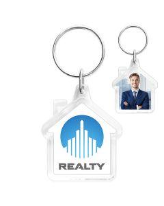 Porte-clés maison photo
