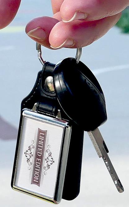 porte-clés-publicitaire cuir